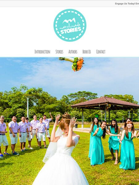 Interactive // Websties // MATCHMADESTORIES . Private Wedding Photography