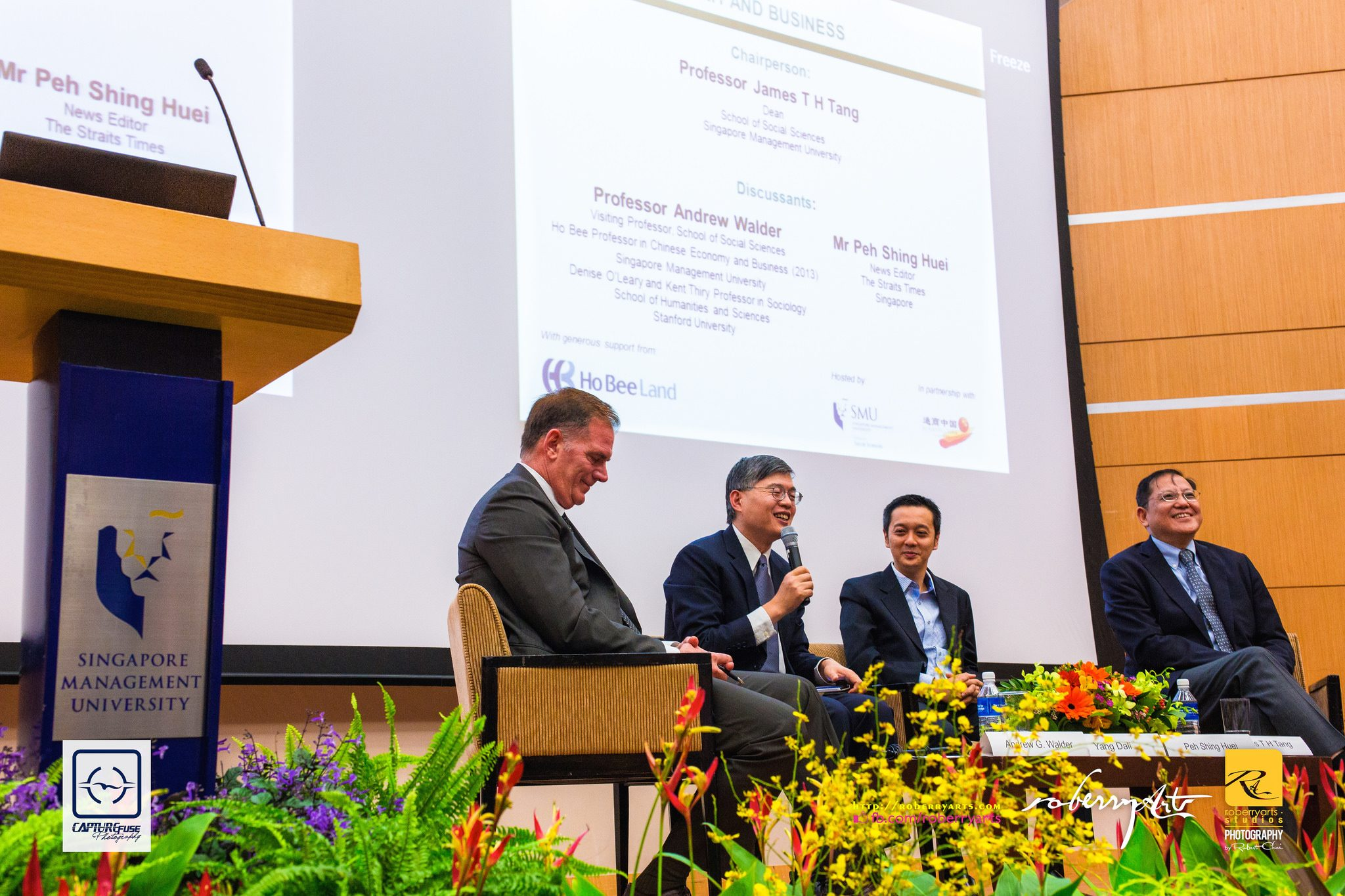 Corporate // SMUSOSS – Ho Bee-SMU Public Lecture Event October 2014 – Highlights