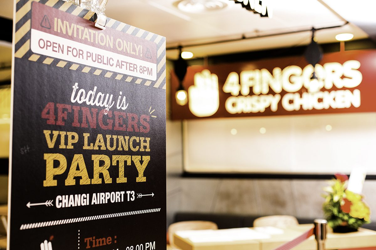 Events // 4Fingers Crispy Chicken (Changi Airport) VIP Opening