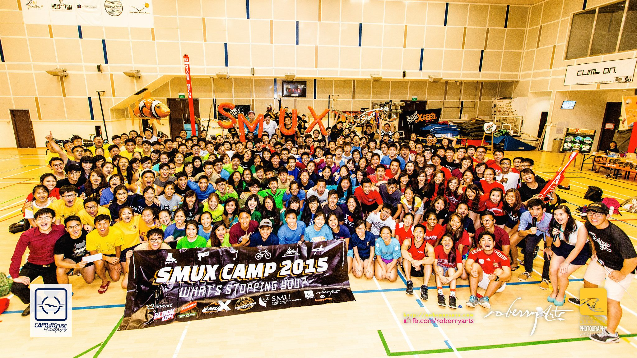 Camps // SMUX Camp 2015 – What's Stopping You