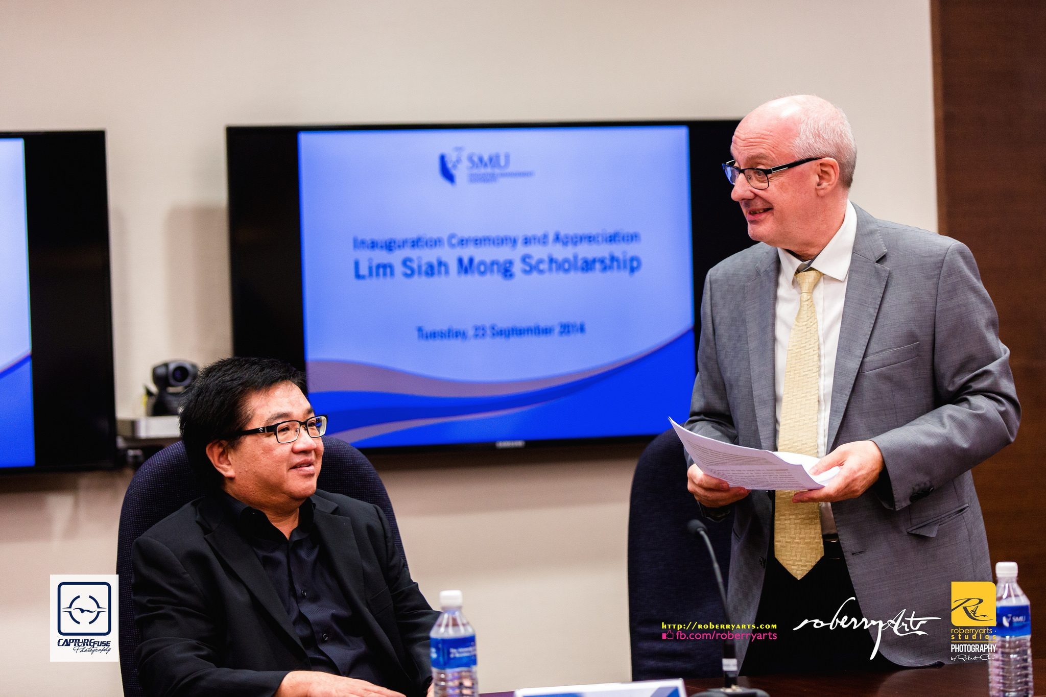 Corporate // SMUOAA – Lim Siah Mong Scholarship Inauguration Ceremony 2014 – Highlights