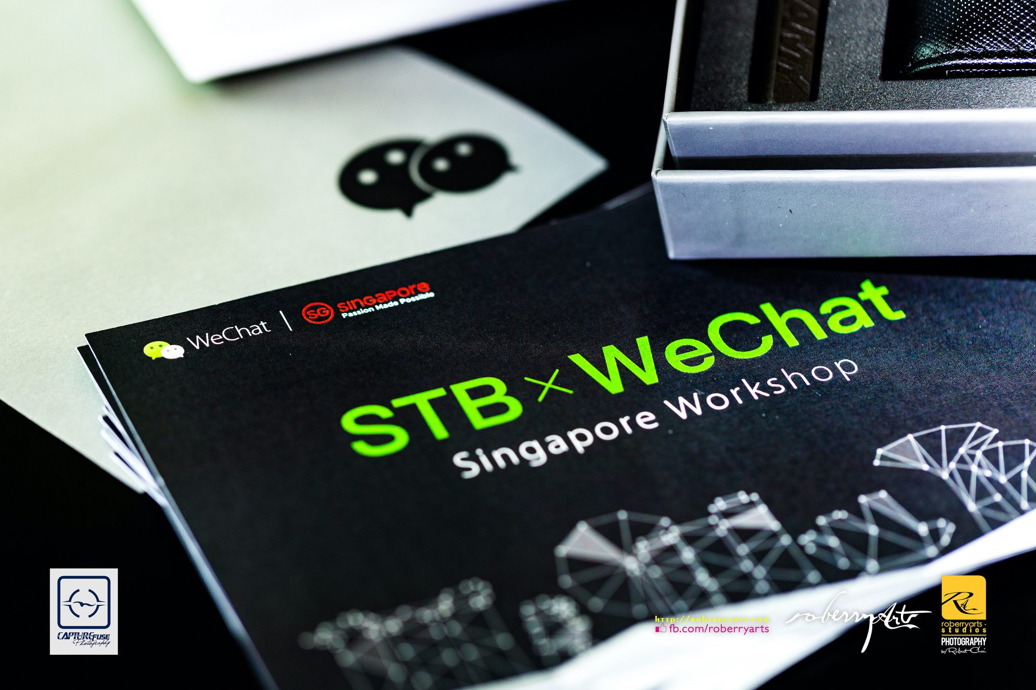 Corporate // Singapore Tourism Board (STB) x WeChat Workshop Sep 2018